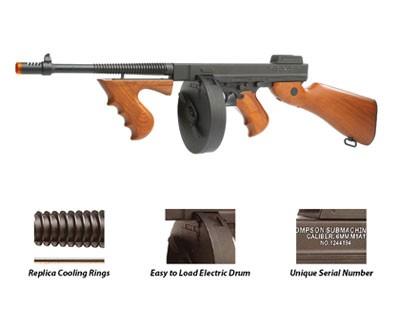 tommy gun the thompson sub machine gun was a popular gun during ...