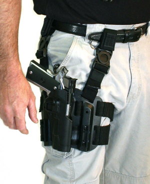 Blackhawk Tactical Thigh Holsters